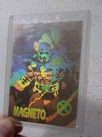 MAGNETO GOLD HOLOGRAM CHASE CARD! *1992 X-MEN SERIES 1*
