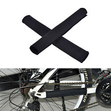 2X Cycling Bicycle Bike Frame Chain stay Protector Guard Nylon Pad Cover Wrap PA