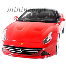 BBURAGO 18-16003 FERRARI CALIFORNIA T CLOSED TOP 1/18 DIECAST MODEL CAR RED