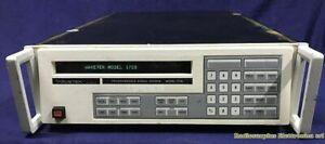 WAVETEK model 172B Programmable Signal Source