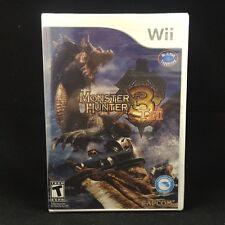 Monster Hunter Tri  3 (Nintendo Wii, 2010) Brand New