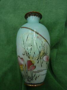 """Antique Cloisonne Vase - 6"""" - Damaged"""