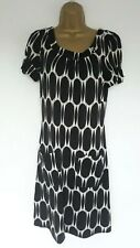 NEXT TUNIC DRESS SZ 12 IN VGC! BLACK, WHITE,SPOTTED, STRETCHY