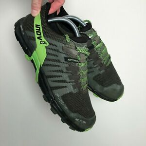 Inov-8 Roclite 290 Powerflow Trail Running Shoes Green Size UK 8