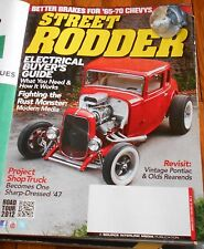 STREET RODDER March 2013- '65-'70 Chevy Brakes, Electrical Buyer's Guide