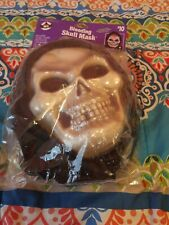 Bleeding skull mask for Halloween. New in original packaging.