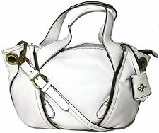 NWT Oryany Leather Lian Satchel White Color MSRP: $356.00