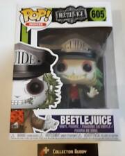 Funko Pop! Movies 605 Beetlejuice Beetle Juice Pop Vinyl Figure FU32319