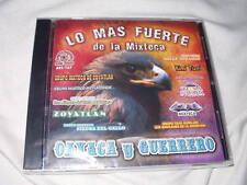 Lo Mas Fuerte de la Mixteca/Oaxaca y Guerrero CD NEW Mexico Latin Rancheras