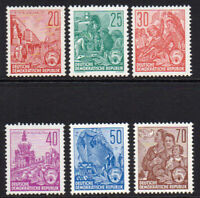 East Germany 6 Stamps 1957? Unmounted Mint Never Hinged (6989)