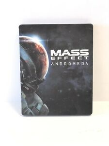 EA Mass Effect: Andromeda Xbox One Ps4 PC Steelbook Steel Case ONLY