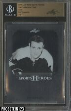 2017 Leaf Metal Pre-Production Proof Clear Phil Esposito BGS 1/1