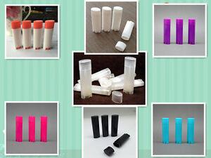 20 Oval Lip Balm Tube 4.5g 0.15oz Deodorant Container Lotion Bar Twist Empty