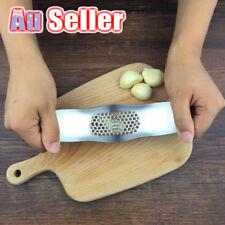 Stainless Steel Rocker Rocking Garlic Press Crusher Home Kitchen Mincer Squeezer