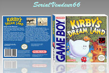 "BOITIER du jeu ""KIRBY'S DREAM LAND"", GAME BOY. PAL FR. HD. SANS LE JEU."