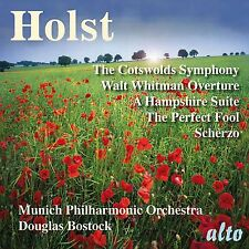 CD HOLST COTSWOLDS SYMPHONY PERFECT FOOL WALT WHITMAN OVERTURE HAMPSHIRE SUITE