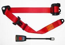 NEW Securon Seat Belt 500/30 Lap & Diagonal Belt RED