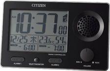 CITIZEN loud radio Alarm clock super clear tone F Black 8RZ149-002 from Japan