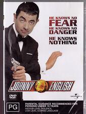 JOHNNY ENGLISH Rowan Atkinson DVD R4 - PAL - New / Sealed