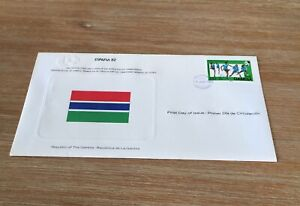 1982 Espana 82 Soccer World Cup The Gambia Fdc