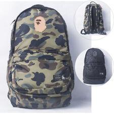 Bape APE A Bathing Ape Camouflage Army Backpack High Quality  Laptop School Bag