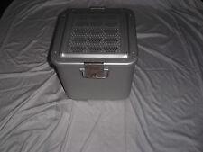 Aesculap Container gebraucht 28x28x25cm Outdoor Angeln Alu Box Klinik Kurios