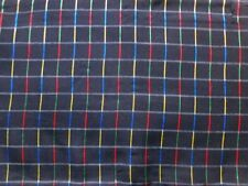Plaid Apparel-Everyday Clothing Craft Fabric Remnants
