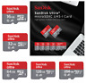 SanDisk Micro SD Card 16GB 32GB 64GB 128GB 256GB TF Class 10 A1 Android Samsung