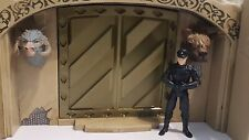 Large alcove DOOR/Wall for Jabbas palace playset. 3D-printed. Silk Bronze