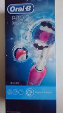 Oral-B Pro 2000W- CrossAction cepillo de dientes eléctrico recargable con tecnología de Braun