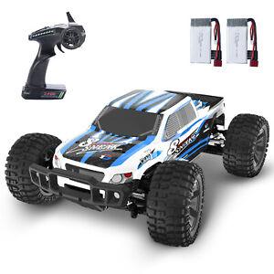 DEERC RC 4WD Auto 1:10 ferngesteuert Fahrzeug Spielzeug Monstertruck für Kinder