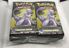 36x POKEMON LEGENDARY TREASURES UNSEARCHED BOOSTER PACK (36 Packs = 1 Box)
