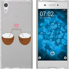 Case for Sony Xperia XA1 Ultra Silicone Case summer M3 + protective foils