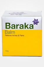 baraka balm relieves aches, joint and muscle pain herbal Ayurveda 50g