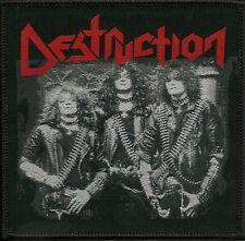 DESTRUCTION - Old School Photo - Woven Patch / Aufnäher