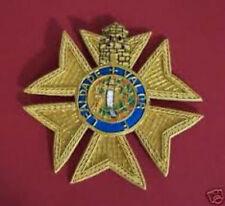 Portugal Kingdom Catholic Medieval Knight Merit Royal Order Tower Sword Star