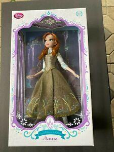 "Disney Limited Edition  Frozen Anna Regal  17"" Doll  Disney Store NEW"