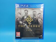 jeu video sony playstation 4 ps4 EUR TBE the order 1886 / usk 18 ans