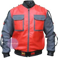 Marty McFly 2 Leather jacket, BTTF Part ll Back to the future Michael J.Fox
