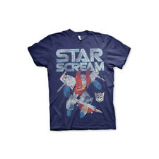 Officially Licensed Transformers Starscream Distressed Mens T-Shirt S-XXL Sizes