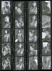 LQQK 20 vintage 1986 negatives, SPLENDID ALL AMERICAN GLAMOUR GIRL NEXT DOOR #30