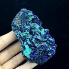 166g RARE Navy blue azurite +malachite Mineral Specimen from Anhui,China