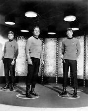 8x10 Print Leonard Nimoy William Shatner Deforest Kelly Star Trek 1968 #WS777