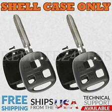 2 For 2008 2009 Toyota FJ Cruiser Remote Shell Case Car Key Fob Cover