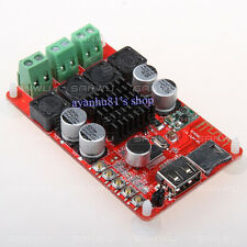TPA3116 2X 50W Bluetooth Receiver Amplifier Board TF USB MP3 Decoder RC Control