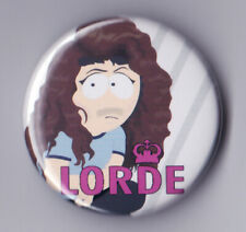 Lorde - South Park Badges & Magnets - Cartman Stan Kyle Kenny Tv Comedy Cartoon