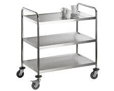 SARO Butler Chariot service débarrassage à thé cuisine 3 BORDE 450 kg belastb
