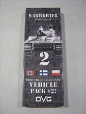 Warfighter WWII: Vehicle Pack 2 (New)