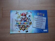 Mario party 5 Gamecube VIP points card