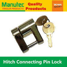 Manutec Trailer Hitch Connecting Pin Lock Coupling Release Lever for Treg pins